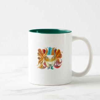 Cucu W Two-Tone Coffee Mug