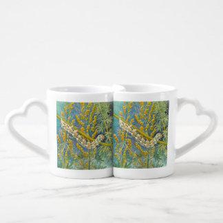 Cucullia Absinthii Caterpillar Coffee Mug Set