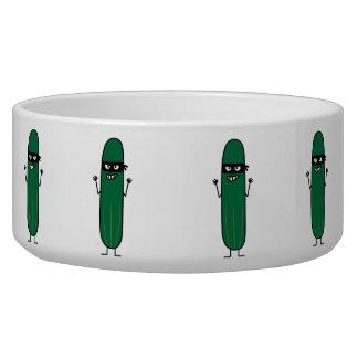 Cucumber Bandito Ninja Masked Sneaky Bandit Bowl