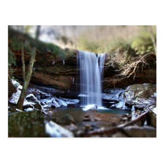 Cucumber Falls - Winter Postcard