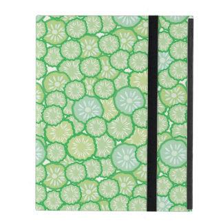 Cucumber funny pattern iPad folio case