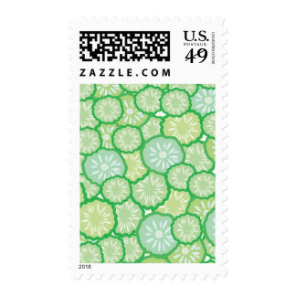 Cucumber funny pattern postage