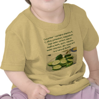 Cucumber infant shirt