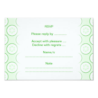 Cucumber Polka Dot Pattern. Personalized Announcement