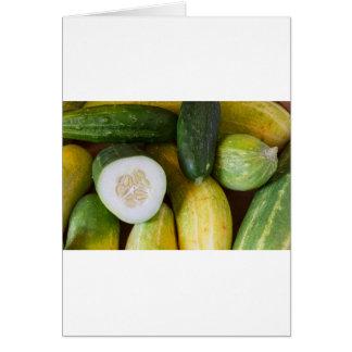 Cucumber Seeds Card