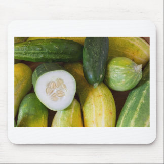 Cucumber Seeds Mouse Pad
