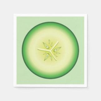 Cucumber Slice Paper Napkin