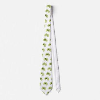 Cucumber slices tie
