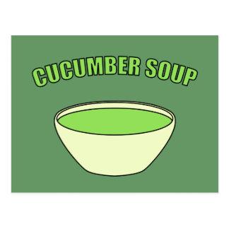 Cucumber Soup Postcard