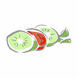 Cucumber & Tomatoe Salad Statuette