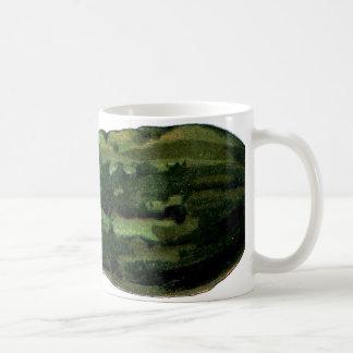 cucumber vintage coffee mug