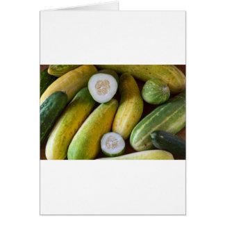 Cucumbers Card