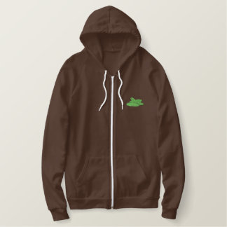 Cucumbers Embroidered Hoodie