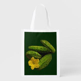 Cucumbers Market Tote