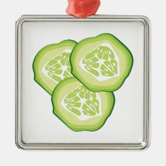 Cucumbers Metal Ornament