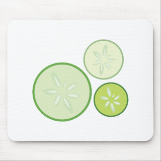 Cucumbers Mouse Pad