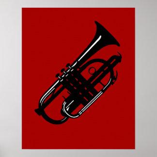 Cucurucho del instrumento musical - músicos impresiones