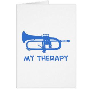 Cucurucho mis diseños de la terapia tarjeton