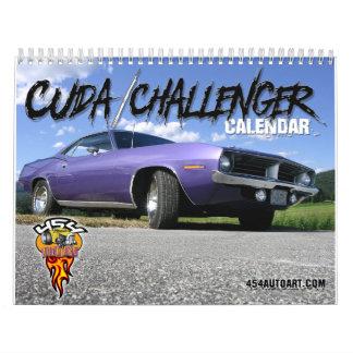 Cuda / Challenger Calendar