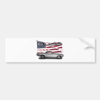 Cuda Muscle Car Bumper Sticker