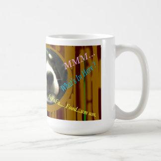 Cuddely dog cup. coffee mug