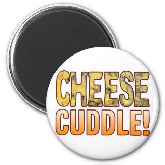 Cuddle Blue Cheese 2 Inch Round Magnet
