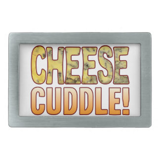 Cuddle Blue Cheese Rectangular Belt Buckle