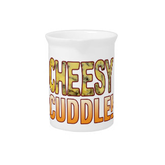 Cuddle Blue Cheesy Beverage Pitcher