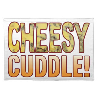 Cuddle Blue Cheesy Cloth Placemat