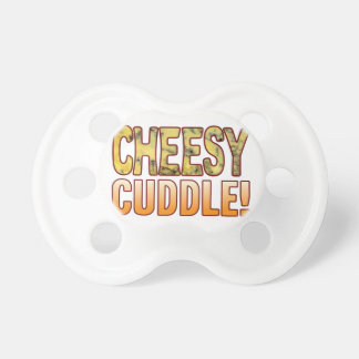 Cuddle Blue Cheesy Pacifier
