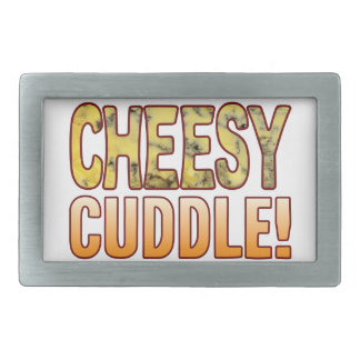 Cuddle Blue Cheesy Rectangular Belt Buckle
