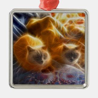 Cuddle Buddies Metal Ornament