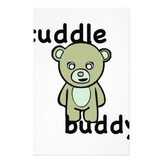 Cuddle Buddy Stationery