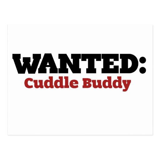 cuddling buddy