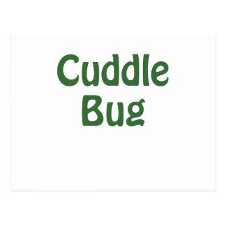 Cuddle Bug Postcard