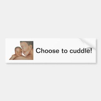 Cuddle Bumper Sticker