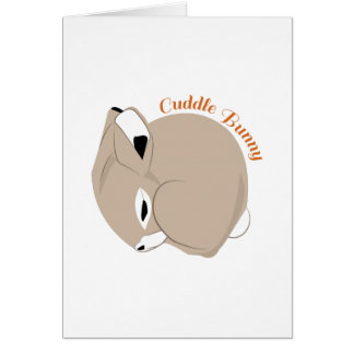 Cuddle Bunny Cards