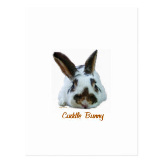 Cuddle Bunny Postcard