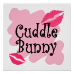 cuddle bunny print