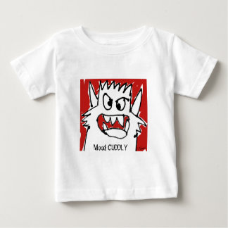 Cuddle Cartoon Monster Mood Baby Personalized Baby T-Shirt