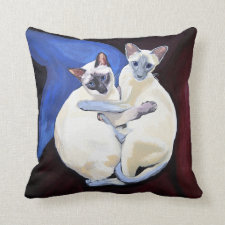 Cuddle cats cushion