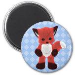 Cuddle Fox Toon Magnet