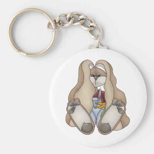 Cuddle Hoppers • Bunny Boy Keychain