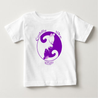 Cuddle Kittens Baby T-Shirt