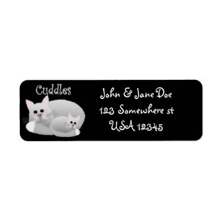 Cuddle Kitties Label
