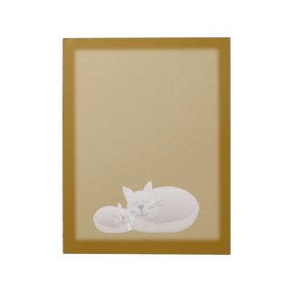 Cuddle Kitties Memo Note Pads
