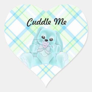 Cuddle Me Lite Blue Rabbit Stickers