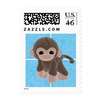 Cuddle Monkey Custom Postage