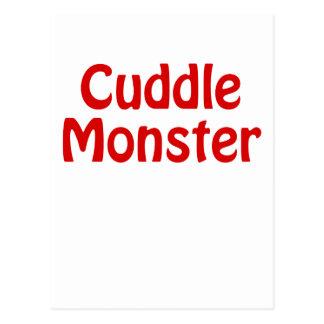Cuddle Monster Postcard