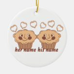 Cuddle Muffins Christmas Tree Ornament